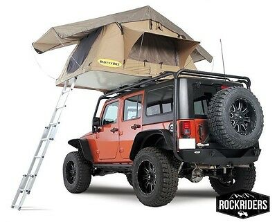 Jeep Truck Camp Smittybilt Overlander Roof Top Camping Tent w/Ladder 2783  $799