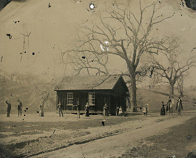 Billy The Kid Playing Croquet In The Summer Of 1878  11 X 14  Photo Print