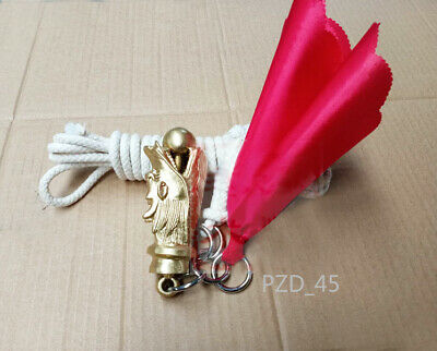 Martial Arts Copper Dragon Head, Rope Dart, Meteor Hammer, Kung Fu Meteor Whip