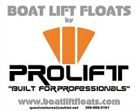 Boat Lift Floats - For Installing/Removing Your Boat Lift