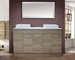 NEW ARRIVAL!!!!!!Grey Oak vanity-1.5m wide BG1500