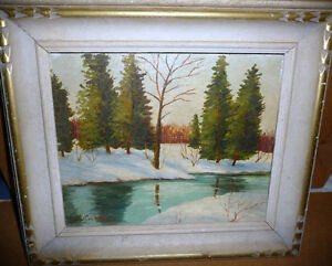 John McCutcheon (ROI) Untitled, Original Oil Painting