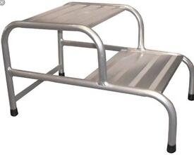 Caravan aluminium step