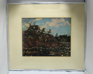"Tom Thomson Print ""The Lily Pond""  Group Of 7 Artist Kingston Kingston Area image 4"