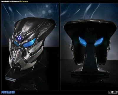 Sideshow Collectibles Stalker Predator Mask Prop Replica in original mailer