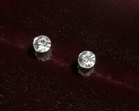 Sterling Silver Earrings with Real Diamonds
