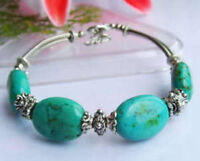 Tibet Silver And Turquoise Bracelet--NEW!!
