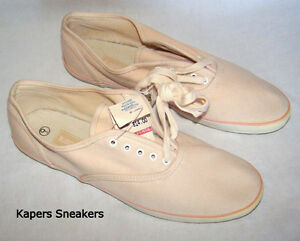 Vintage KAPER'S canvas sneakers, new, 9