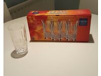 "4 x Nirvana ""Cristal de France"" 28cl High Ball Tumblers - Quality French Lead Crystal"
