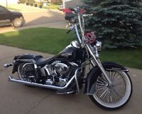 2011 Heritage Softail with 7000km