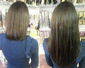 £10 per hour SAME DAY Mobile hair extensions Micro rings, Nano rings, Taped Hair, LA Weave