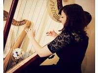 Harp & Piano/Organ music for weddings, functions & all occasions.