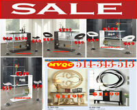 Look furniture sale, computer stools, benches, vanities chairs