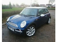2002 Mini Cooper Chilli Pack in Blue
