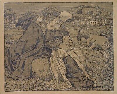 Hans Thoma Schwarzwald Karlsruhe Heilige Familie Maria Jesus-Kind Josef Esel