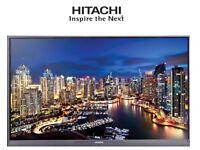 "HITACHI 32"" FULL HD Flatscreen TV - HDMI, USB, Freeview, Remote Control, EXCELLENT CONDITION!!"