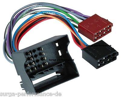 Radioadapterkabel Mercedes-Benz E-Klasse / CLS / SLK / Radioanschlusskabel / ISO