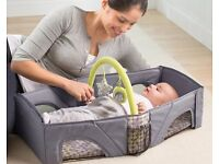 Portable baby carrier cot