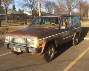 For sale or trade. 1985 Jeep Wagoneer.