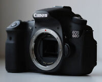 Used Canon 60d body only FIRM