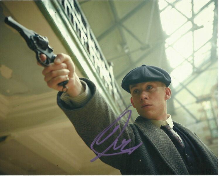 Joe Cole Peaky Blinders Autographed Signed 8x10 Photo COA