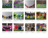 Wedding decoration , origami decoration , handmade decoration