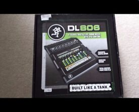 Mackie DL 806 digital mixer