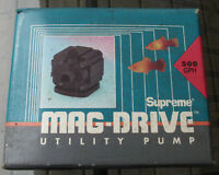 MAG-DRIVE UTILITY PUMP WITH INSTRUCTIONS IN BOX $20.00  Seepict