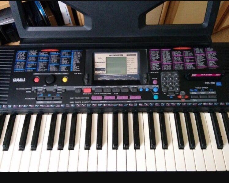 yamaha psr 230 keyboard in peterborough cambridgeshire