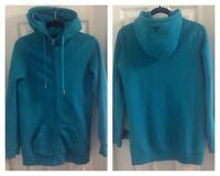 TNA turquoise long hoodie