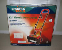 """BRAND NEW Spectra Tools 12"""" Electric Snow Shovel"""
