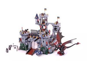 Lego 7094 Kings Castle Siege - Complete w/instr - Exc Condition!