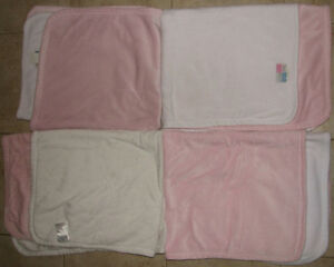 Pink & White Soft Baby Blanket (Retails $20+ each) London Ontario image 1