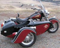 indian with sidecar