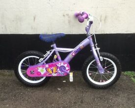"GIRLS APOLLO PETAL BIKE 12"" WHEELS £20"