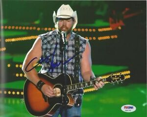 Toby Keith Autographed 8x10 Photo w/ COA!