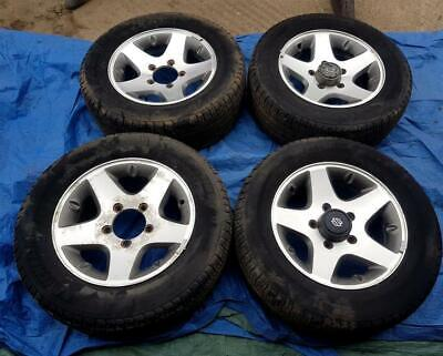 "Suzuki Grand Vitara 16"" Alloy Wheels PCD 5x139.7mm 6.5Jx16 ET25 235/60R16"