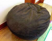 Corduroy Bean Bag King Size Bed