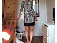 Primark Stunning 70s Paisley design dress