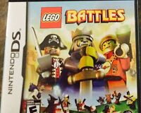 DS game Lego Battles in case with manual $10