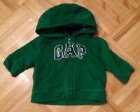 GAP hoodie, 0-3 months, EUC