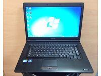 Toshiba i3 Very Fast HD Laptop, 4GB Ram, 250GB, (Kodi) Microsoft office, Like New Condition