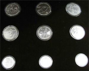 1982 Greece Olympic Coins 1984 Yugoslavia Olympic Coins Kitchener / Waterloo Kitchener Area image 1