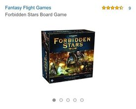 FORBIDEN STARS BOARD GAME
