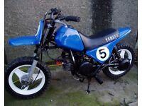 yamaha pw 50 dirt bike pit bike