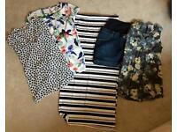 Maternity Bundle Summer - Skirts Tops Size 10 / 12 / Small / Medium - Jo Jo - Next - JoJo Maman Babe