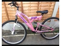 Dunlop bike . Women's bike . Ladies bike . Mountain bike . Bike . Girls bike