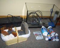 ~10 gallon fish tank + everything you need + extras