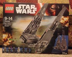 Lego Star Wars Kylo Ren's Command Shuttle New
