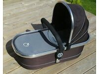 ICandy Peach Carrycot, excellent condition. Black Jack. Can deliver locally